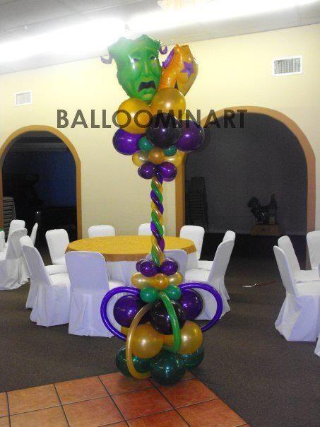 Mardi gras balloon columns facebook yolanda