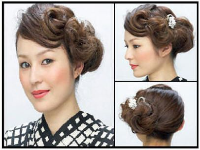 Gallery For Japanese Hairstyles Buns Bun Hairstyles Japanese Hairstyle Hair Styles