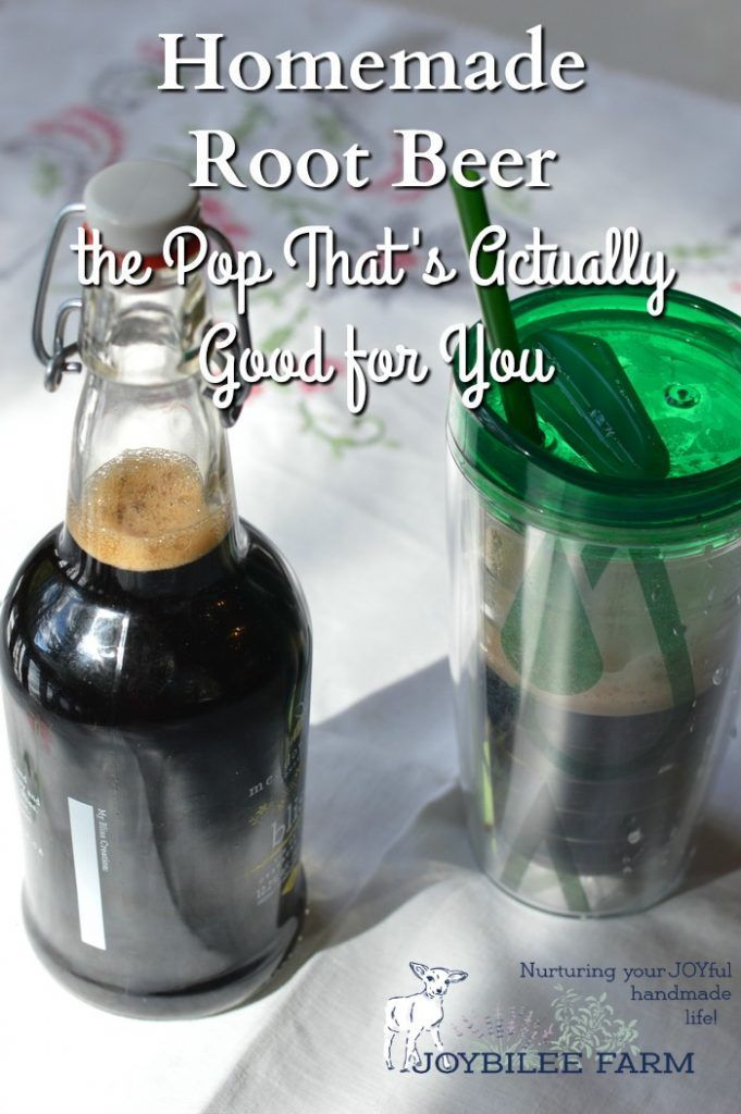 Homemade Root Beer: The Pop That's Actually Good for You | Joybilee® Farm | DIY | Herbs | Gardening |