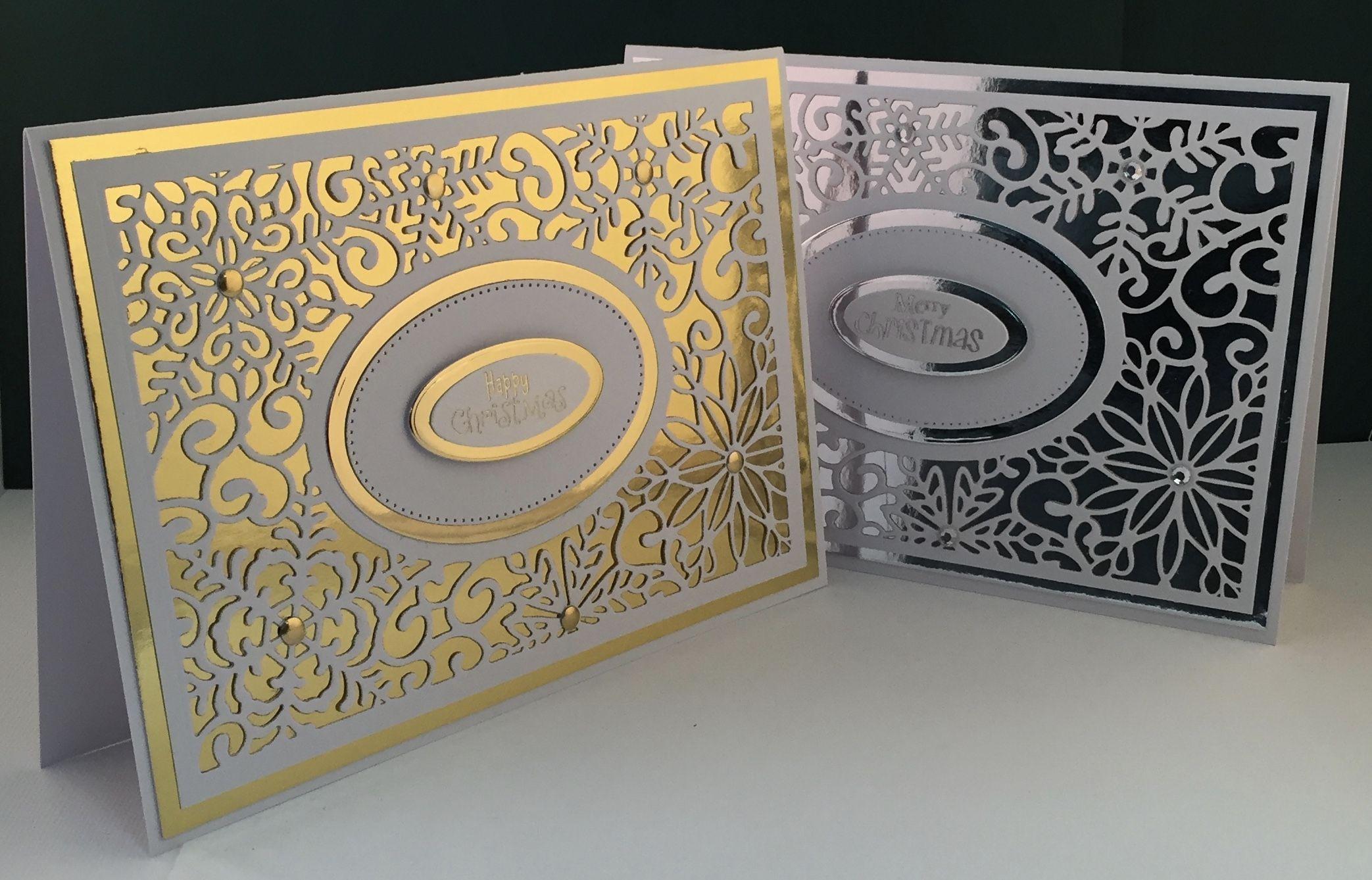 открытки с тиснением и конгревом внутреннего пространства