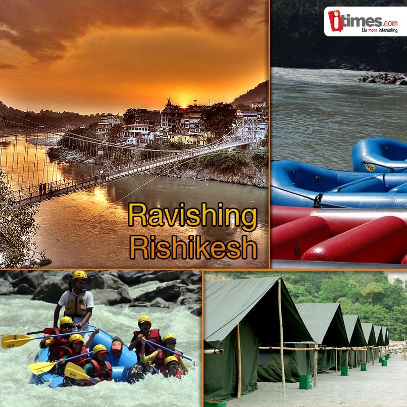 The World Capital of Yoga Rishikesh is not just about Mandirs & Ashrams, it has much much more in store. From beach side camps to raging rapids, from rafting to bunjee jumps & a lot more. The weather is perfect for Rishikesh, here is what all you need to know more.