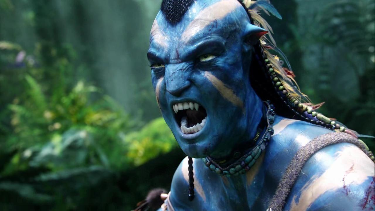 jake sully full of rage! (still from film) | avatar!!! | pinterest