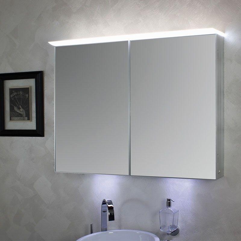 Badezimmer Spiegelschrank Mit Beleuchtung gro spiegelschrank bad 60 ...