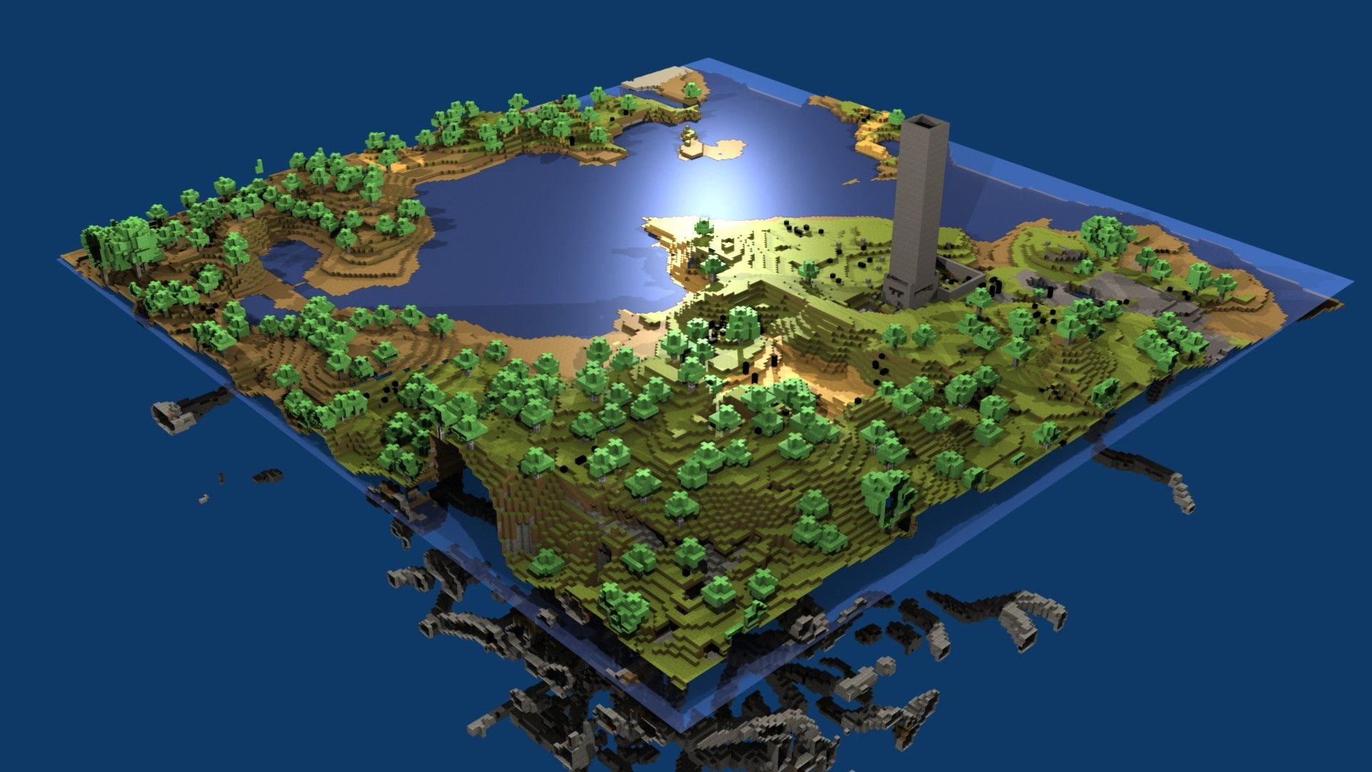 Amazing Minecraft Wallpapers 1366x768 Backgrounds 36