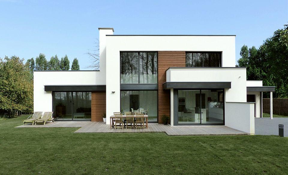 Plan Maison Moderne Cubique – Plan Maison