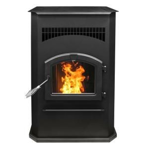 Pleasant Hearth 2 200 Sq Ft Pellet Stove With 120 Lb Hopper And Auto Ignition Ph50cabps At The Home Depot Mobile Soggiorno