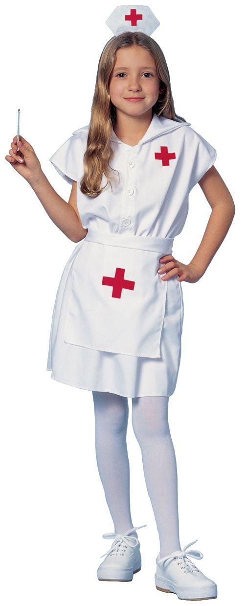 Little Nurse Costume - Nurse Costumes  sc 1 st  Pinterest & Little Nurse Costume - Nurse Costumes | kids costumes | Pinterest ...