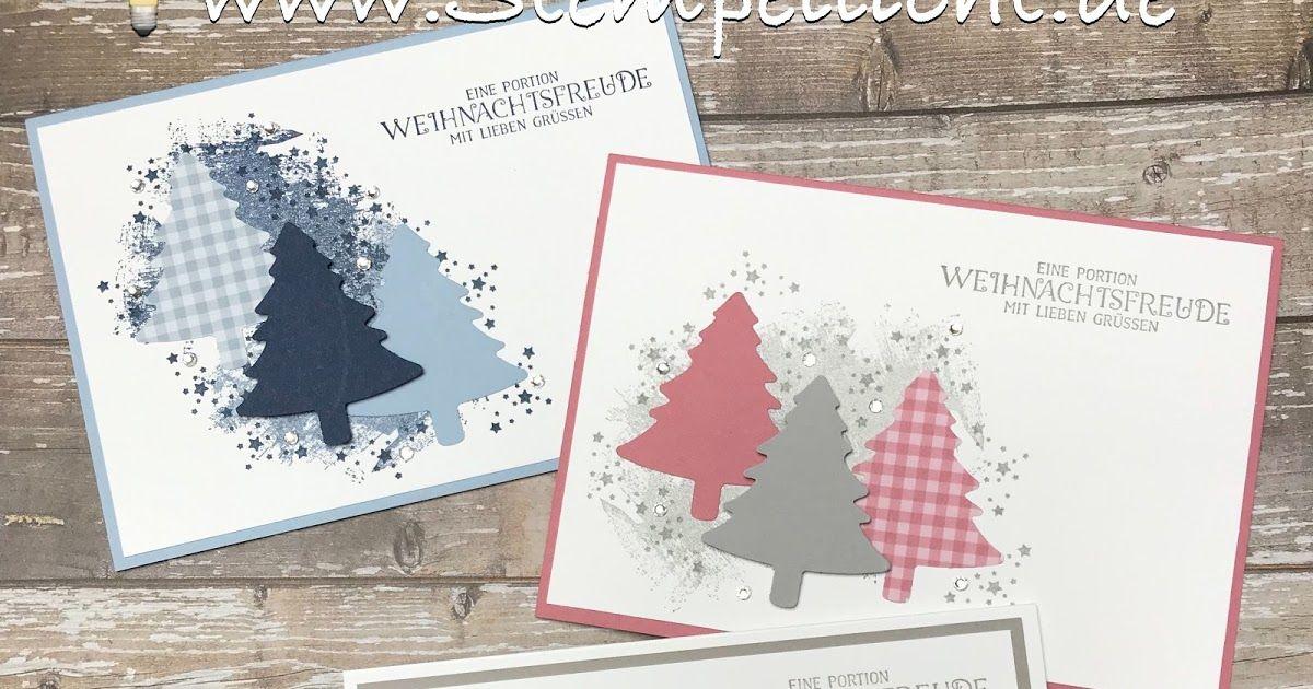 Photo of Weihnachtskarten mit Tannen