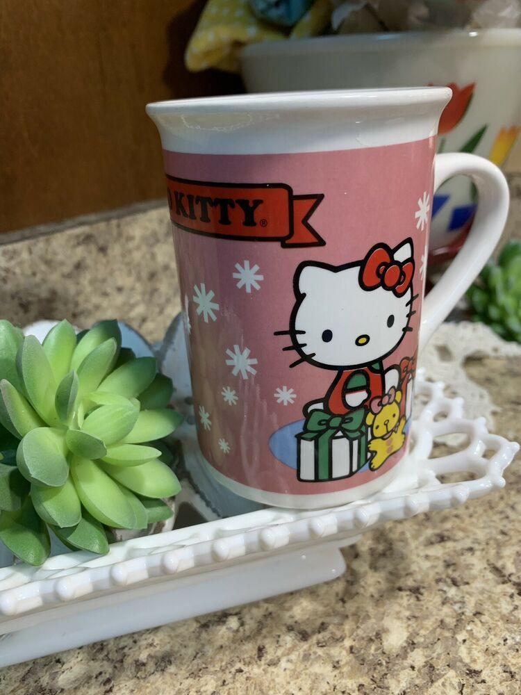 Hello Kitty Christmas Mug Coffee Mug Cup 2013 Hello Kitty Christmas Christmas Mugs Purple Coffee Mugs