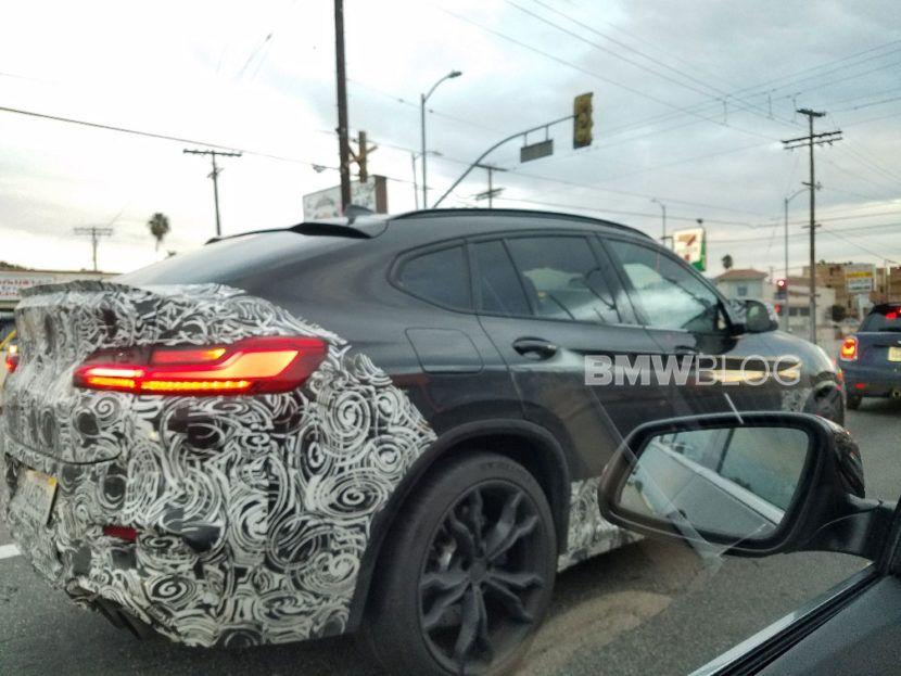 2020 Bmw F96 X6 M Was Spotted In California Met Afbeeldingen