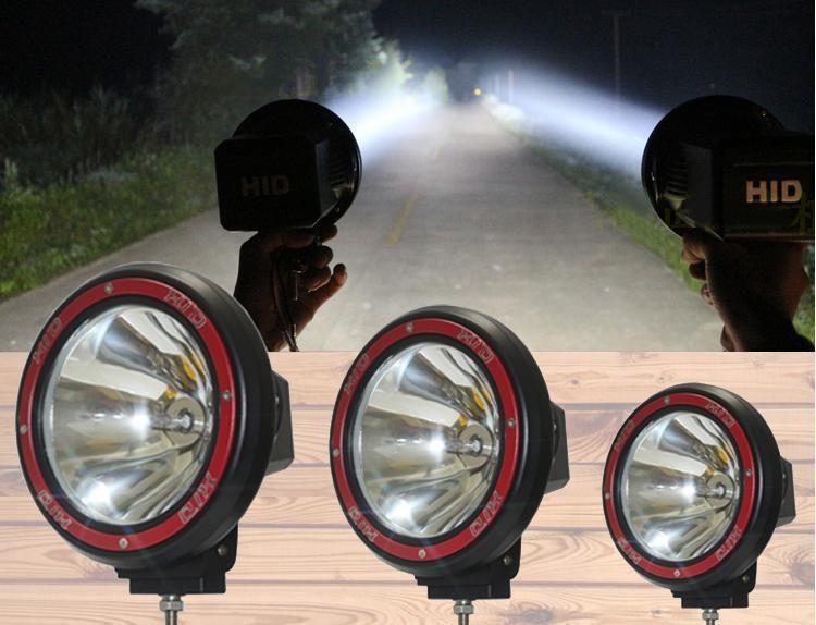 17dd866c357f 7 55W Offroad 7 Inch HID Xenon Driving Light Work Light Spot Flood Beam Fog  Light