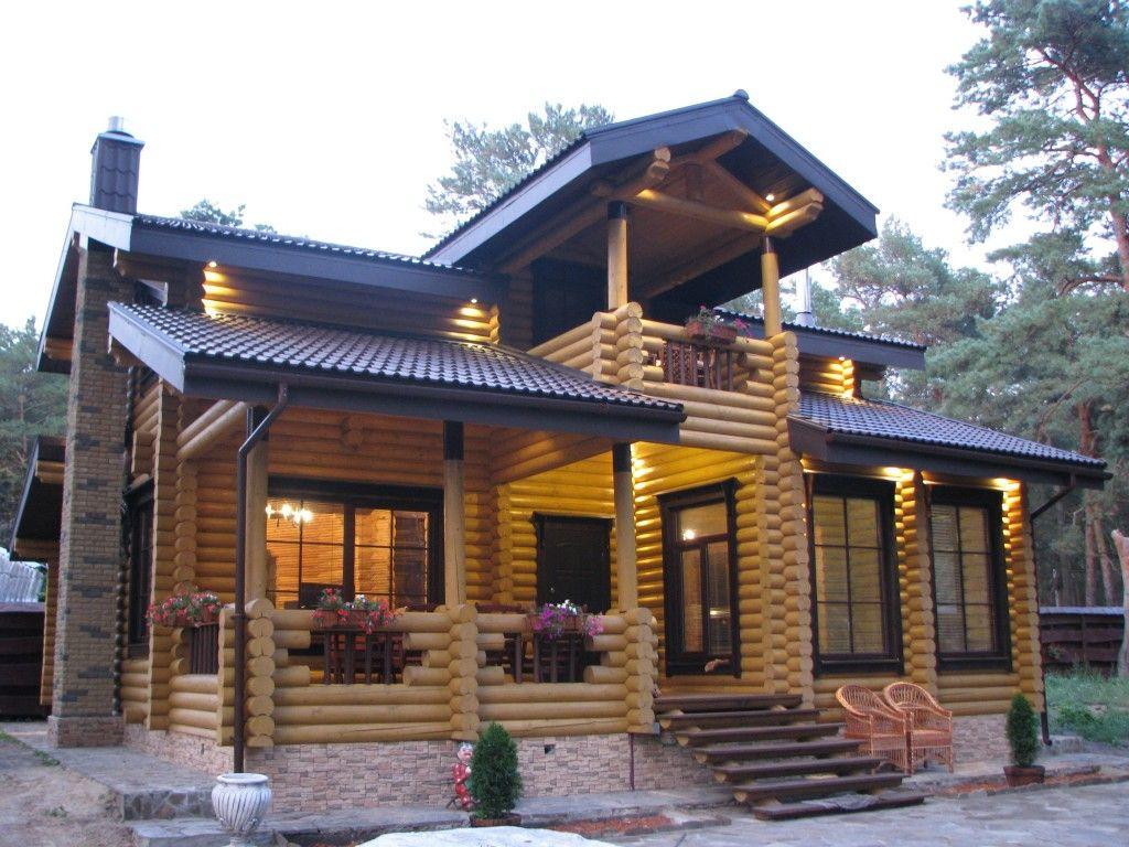 Фото срубов домов из бревна фото   Дом, Деревянные дома и ...
