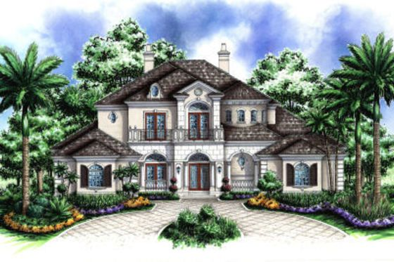 House Plan 27 388 French House Plans Mediterranean House Plans