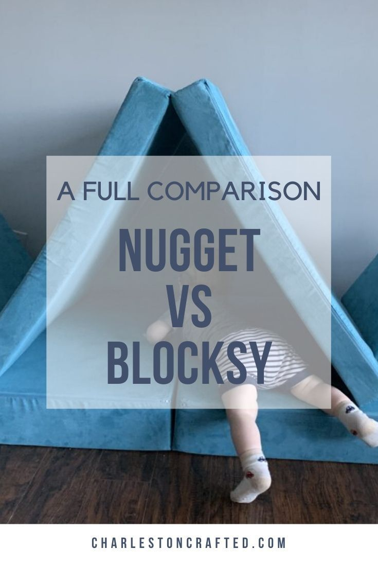 Nugget Couch vs Foamnasium Blocksy   Kids couch, Nugget ...