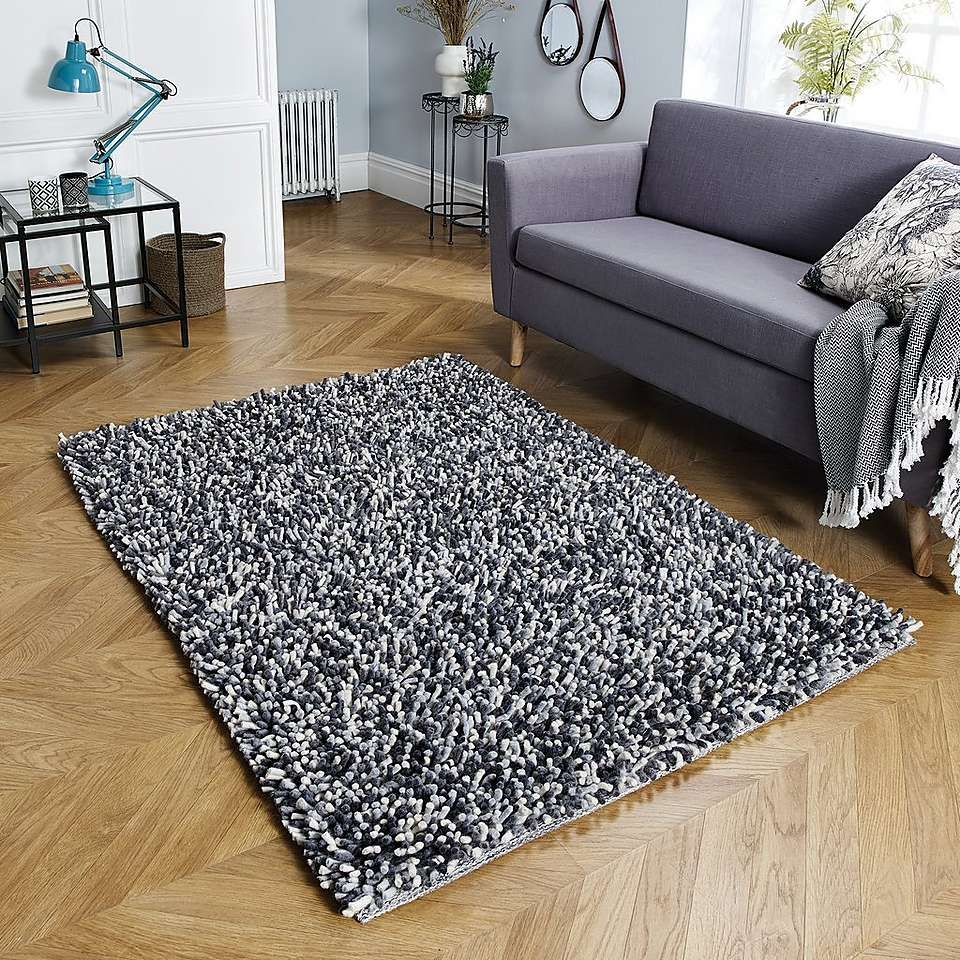 Candy Forest Shaggy Rug Dunelm With