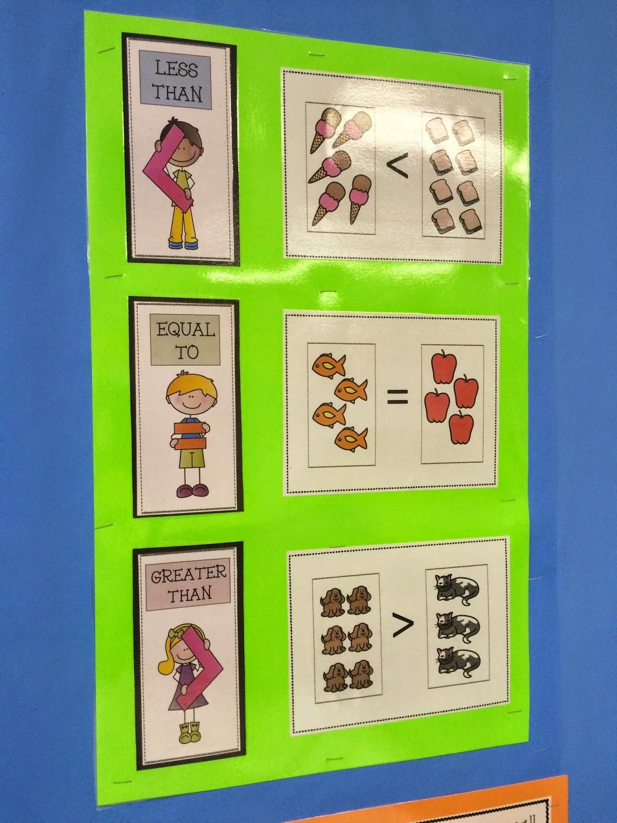 Daily Math Practice- Level 1 (Big/Small, More/Less, Colors): Math ...
