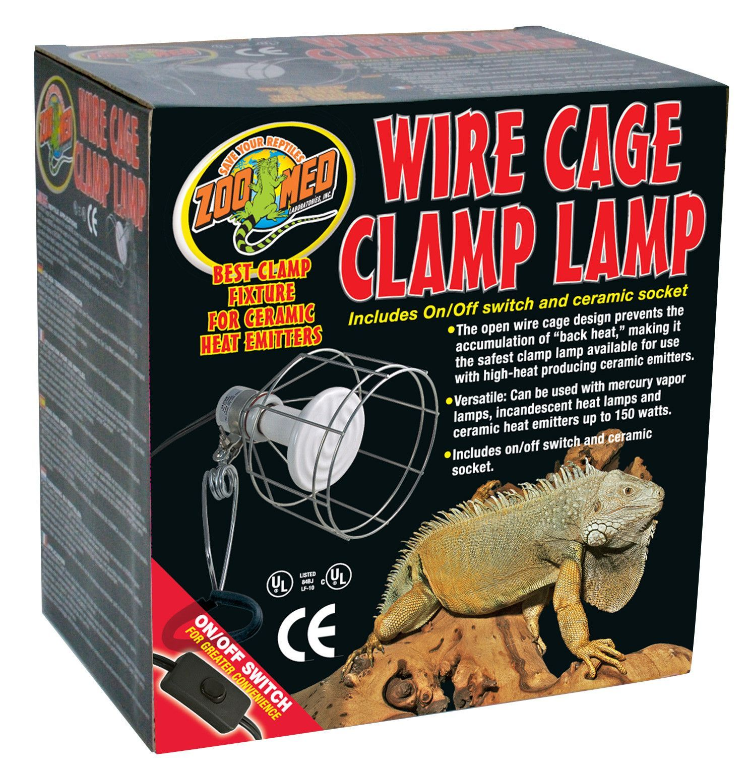Zoo Med Clamp Lamp Wire Basket 8 5 Clamp Lamp Zoo Med Wire Clamp