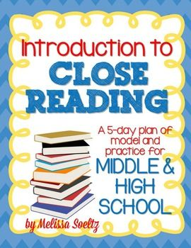 Close Reading for Middle and H...