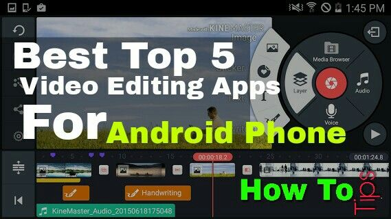 Best Video Editing Apps For Android http//www.howto
