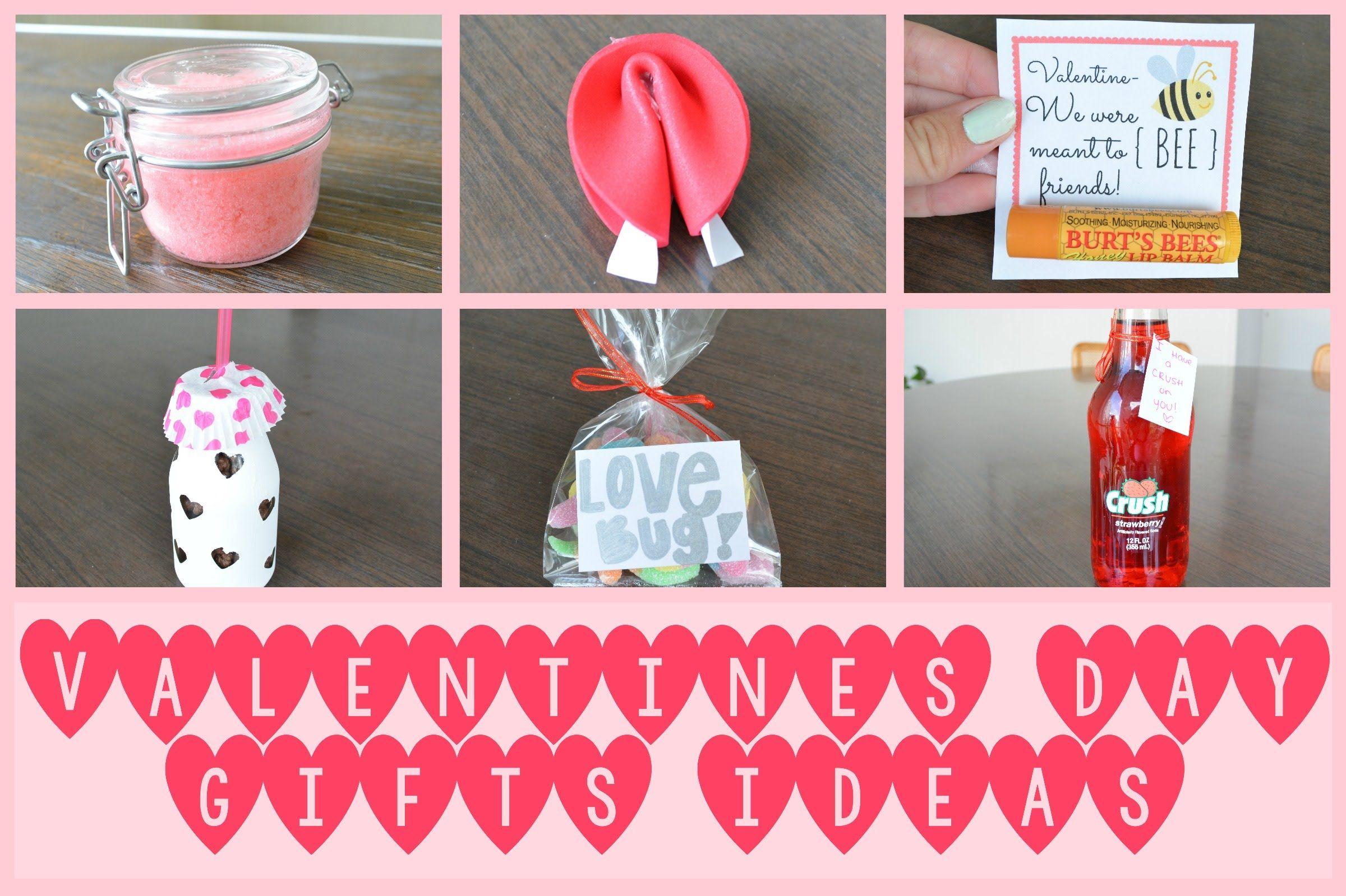 Valentine's Day Pinterest Gift Ideas #DIY #Craft #Valentiensday ...