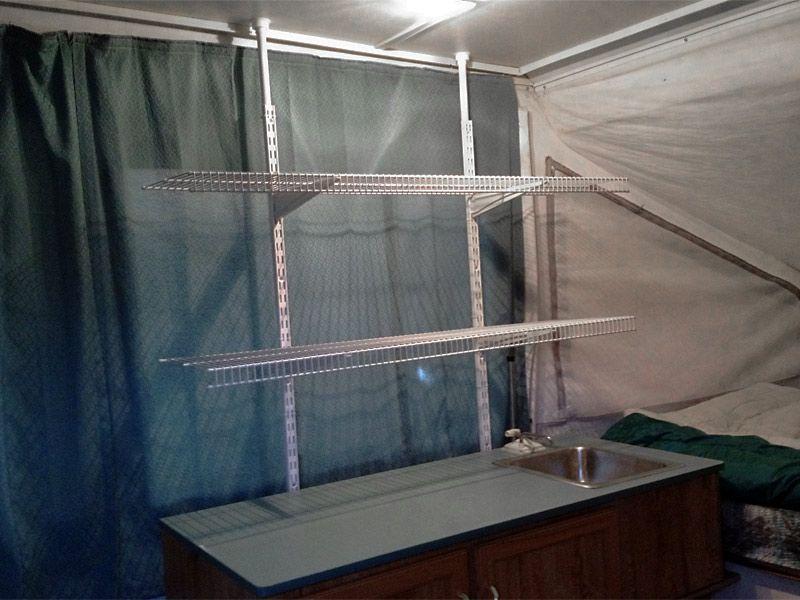 Best Pop Up Camper Images On Pinterest Camper Remodeling - Pop up trailer with bathroom for bathroom decor ideas