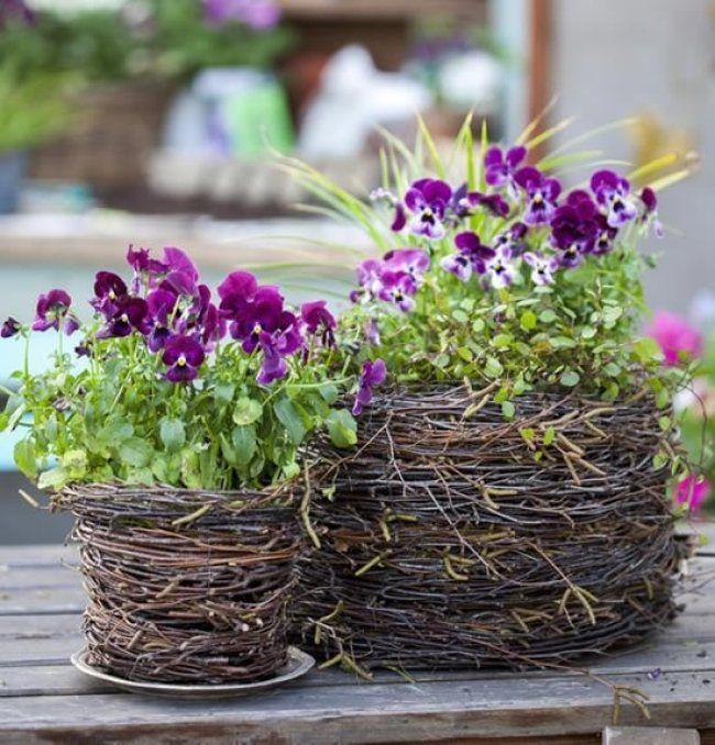 30 Amazing DIY ideas for decorating your garden uniquely