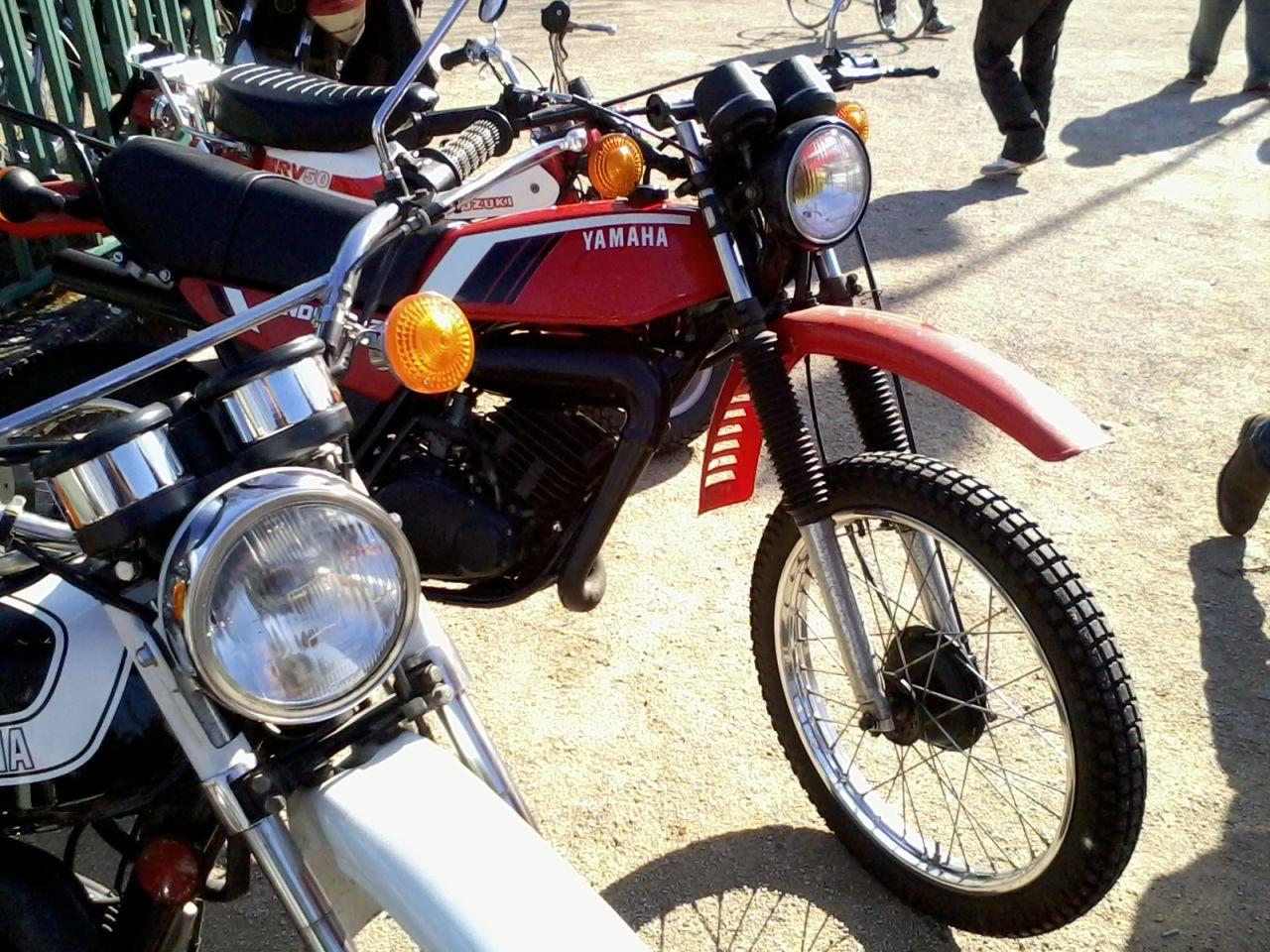 Yamaha 125, Vincennes, le 5 avril 2015.