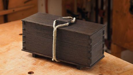 Dovetailed Tea Box Finewoodworking Woodworking Projects