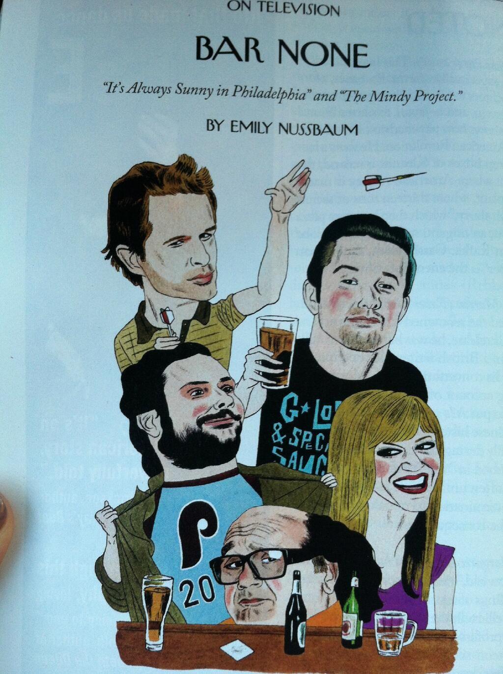 Mary Elizabeth Ellis On New Yorker Cartoons It S Always Sunny In Philadelphia Kitten Mittens
