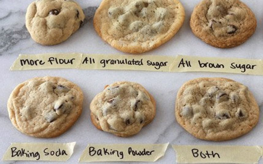 The Science Behind The Perfect Cookie Perfect Chocolate Chip Cookies Yummy Cookies Baking Soda Baking Powder