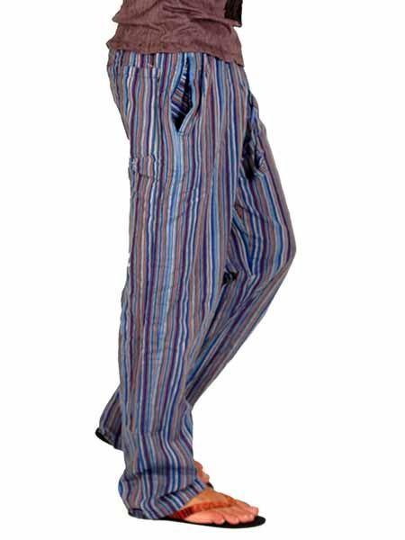 Pantalones Hippies Pantalon Hippie De Rayas Paev05 Encontrado En Zas En La Categoria De Ropa Hippie Alter Pantalones Hippies Ropa Hippie Hombre Ropa Hippie