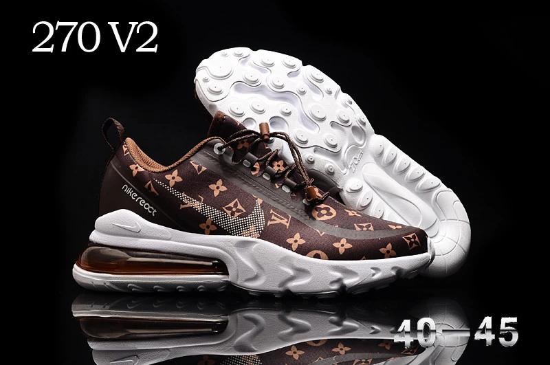 Nike Brown Louis Vuitton LV 270 V2