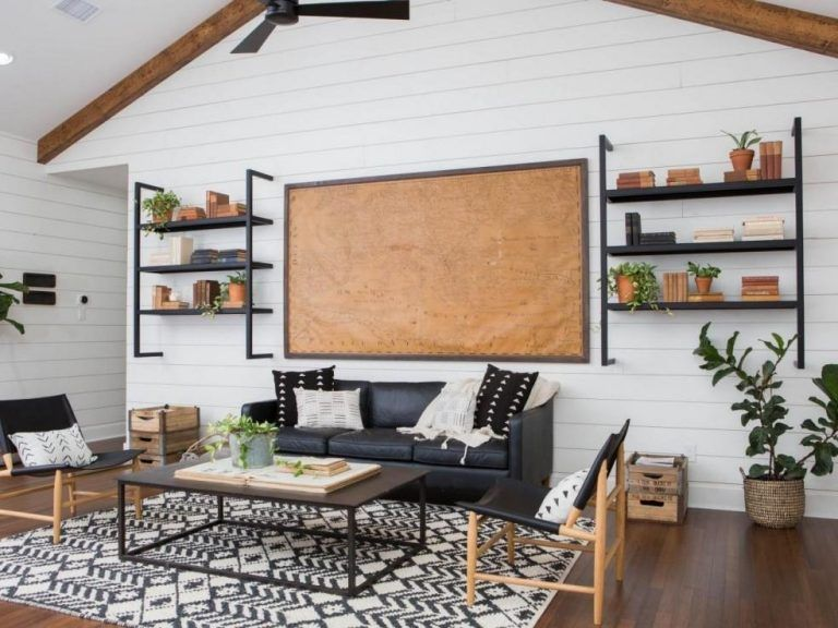 Shiplap Wall Ideas Engineering Basic Vaulted Ceiling Living Room Shiplap Living Room Fixer Upper Living Room