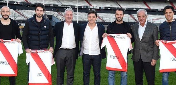River Plate contrata jogadores da seleção argentina e atacante ex-Inter