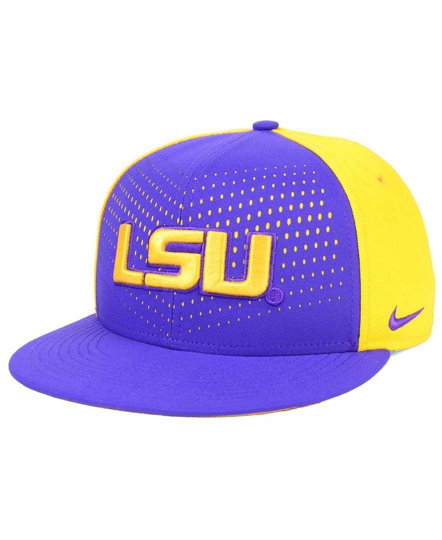 Nike Lsu Tigers True Seasonal Snapback Cap