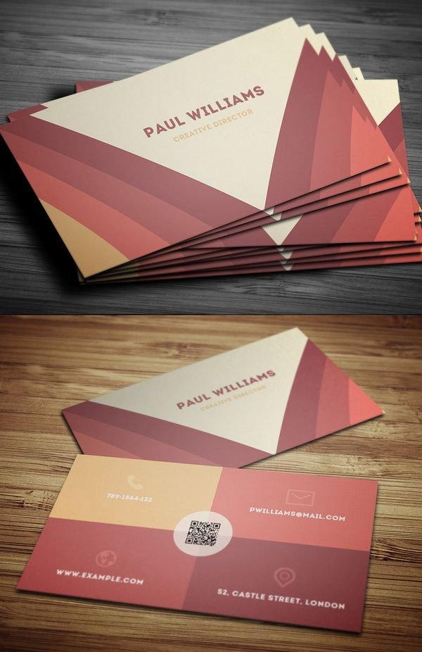 Creative Business Card Design | Business Cards Design | Pinterest ...