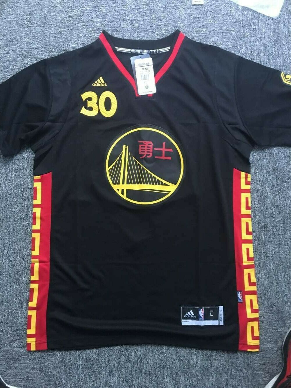 sale retailer 43045 e5f45 STEPHEN CURRY #30 Golden State Warriors CHINESE NEW YEAR ...
