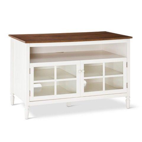 Isabella Glass Door With Open Shelf Tv Stand 47 Gray Blu Dot Open Shelving Target Living Room Blue Tv Stand