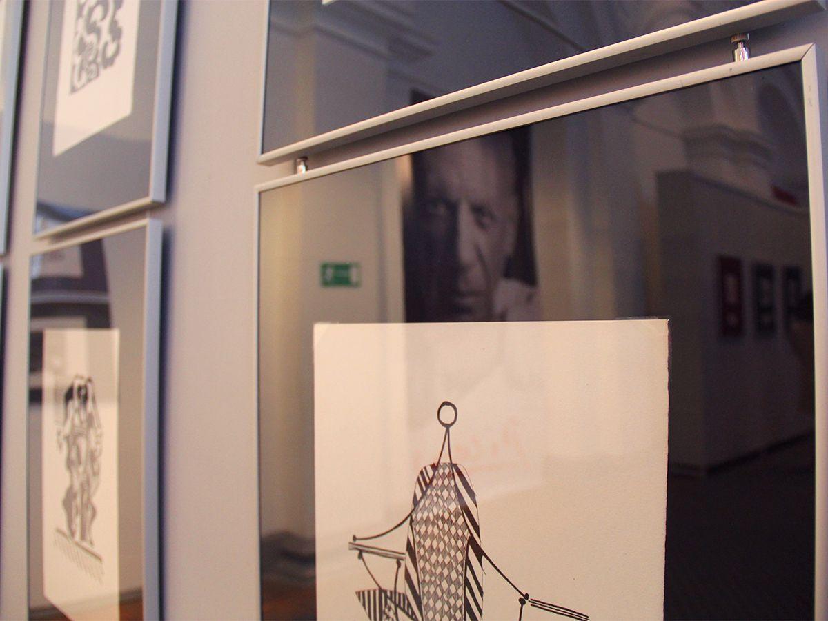 На выставке Пикассо в Калининграде