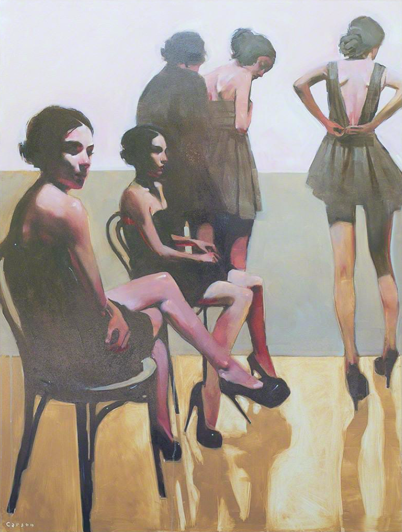 The Female of the Species, Michael Carson