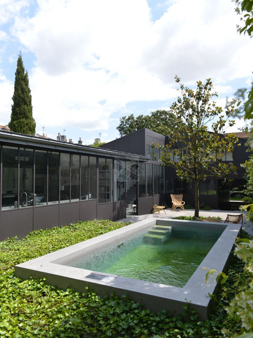 Maison de ville avec jardin et piscine swimming pools paisagismo
