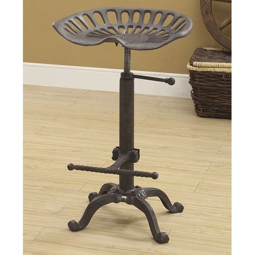 Found It At Joss Main Elsinore 24 Swivel Bar Stool Tractor Seat Stool Adjustable Stool Decor
