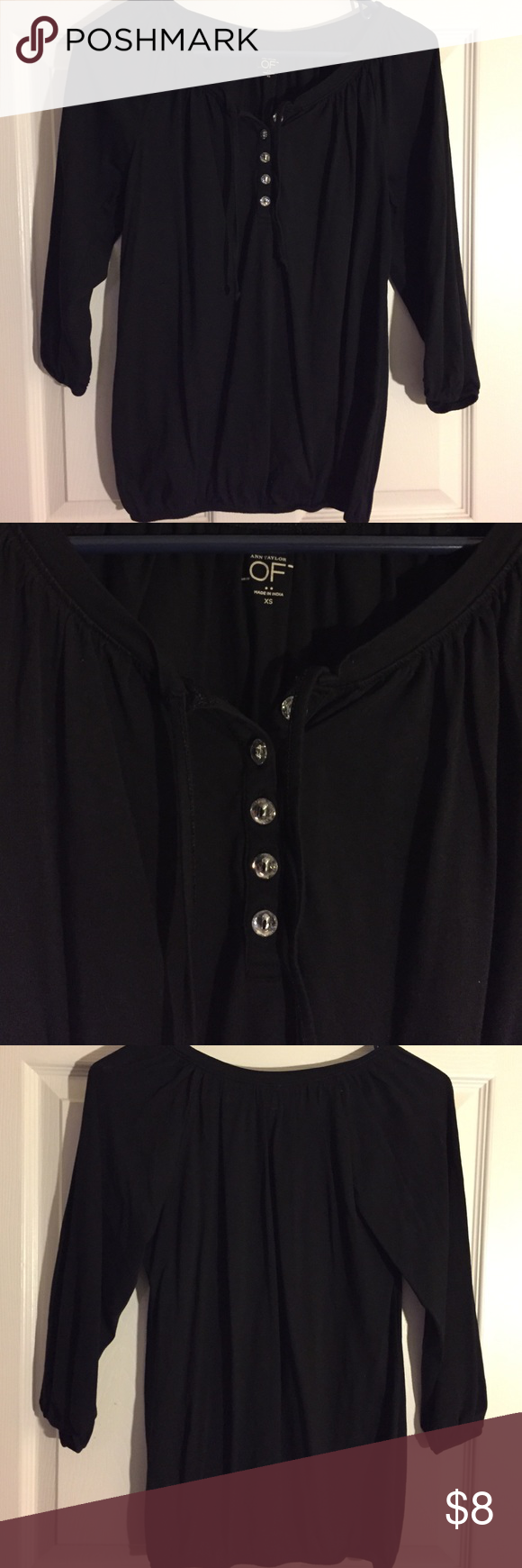 Loft 3/4 sleeve Size XS LOFT Tops Tees - Long Sleeve