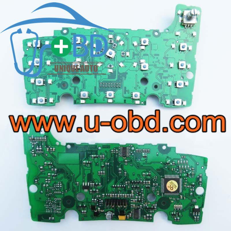 Audi Q7 Mmi Multimedia Control Panel Audio Navigation Keystroke