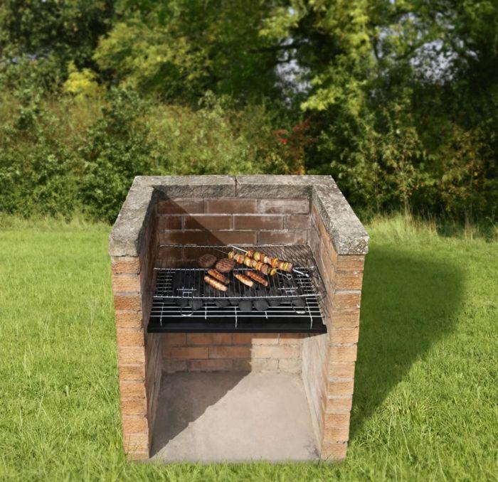 gemauerter grill wollen sie diesen selber bauen gemauerter grill grill bauen und garten. Black Bedroom Furniture Sets. Home Design Ideas
