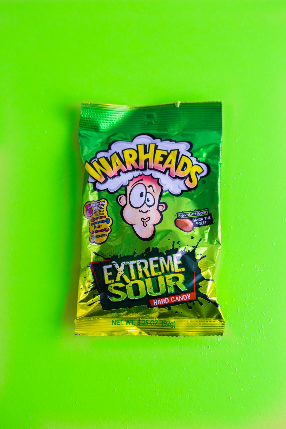 Extreme Sour Warheads Candy Candy Sour Candy Hard Candy