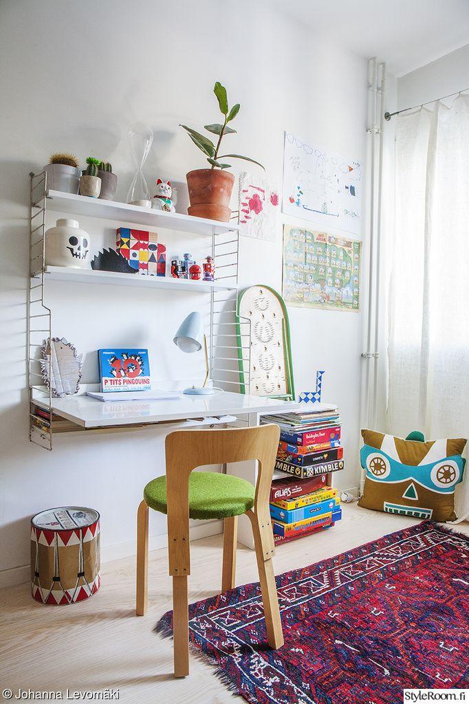 artek,aalto,string,string-hylly,kirjoituspöytä