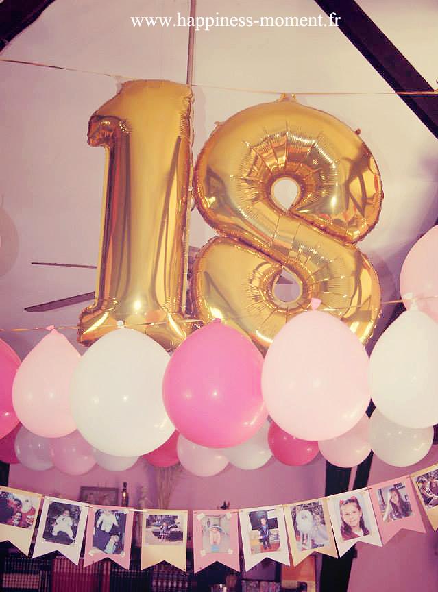 18 ans : ça se fête ! .. | décoration de table | pinterest