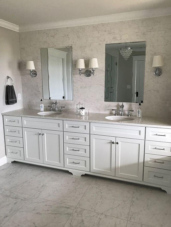 46 Incredible Bathroom Cabinet Paint Color Ideas Painting Bathroom Cabinets Painting Cabinets Bathroom Cabinets Diy