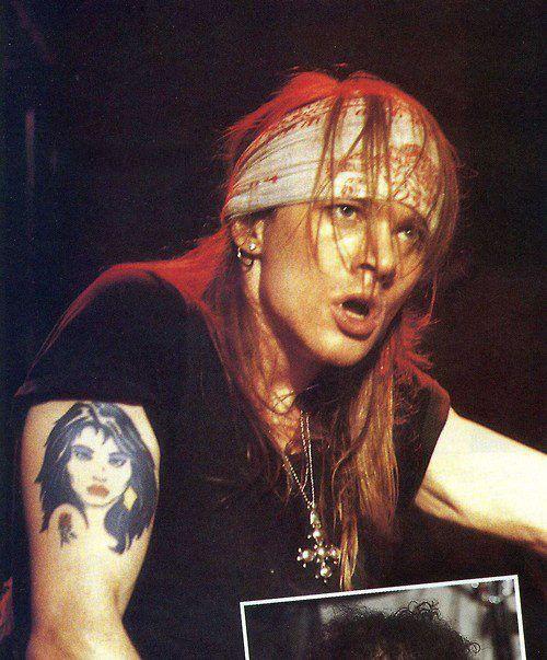 Greatest Hits Guns N Roses: Axl Rose Of Guns N' Roses, Late '80s #axlrose #waxlrose